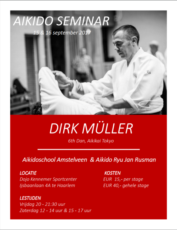 stage Dirk Muller september 2017